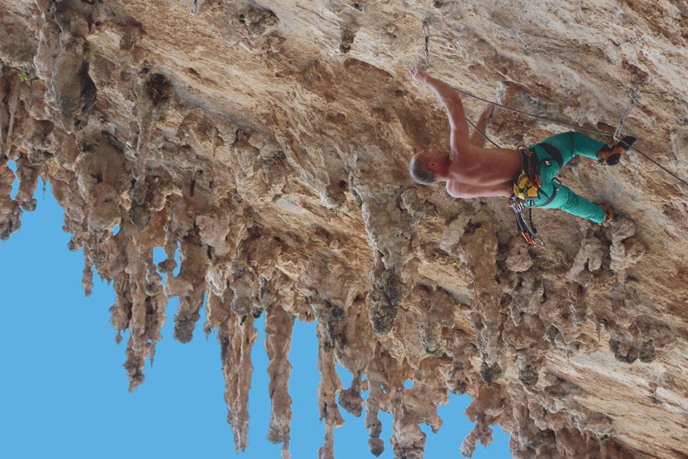Kletterkurs am Fels