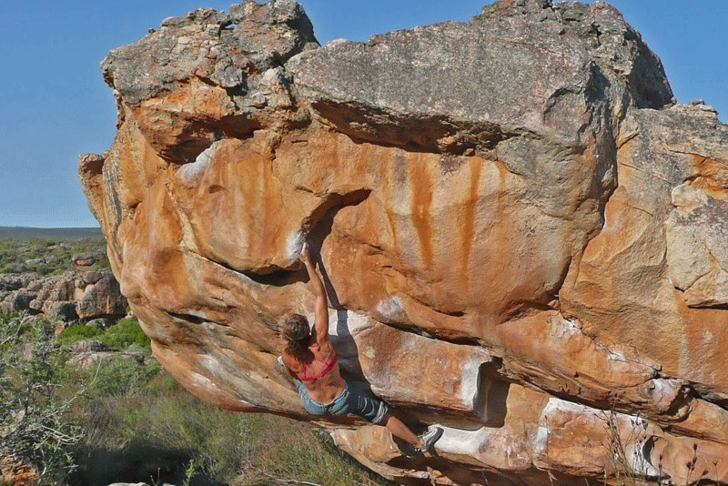 Boulderkurs am Fels