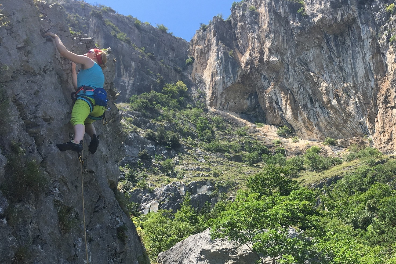 Kletterkurs am Fels Aufbaukurs