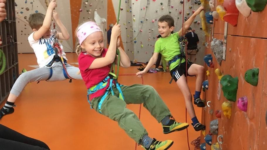 Kletterkurse Kinder