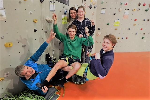 Kletterkurse für Familien