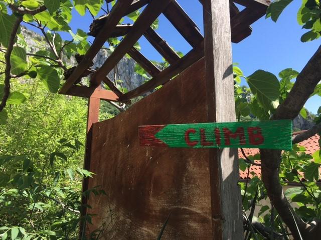 Rückblick aufs Wochenende: Kletterkurs am Fels für Anfänger