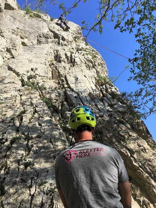 Kletterkurs am Fels für Anfänger