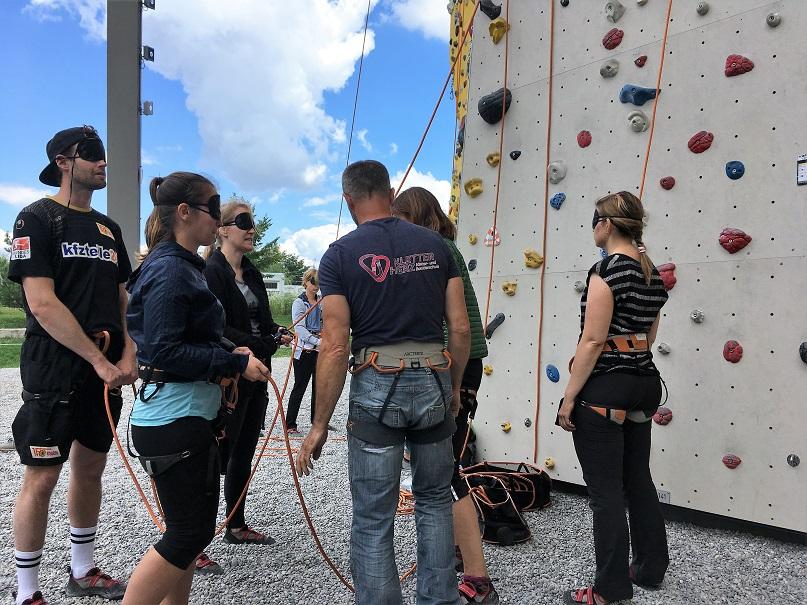 Teamevent Klettern – Wenn aus Kollegen Teams werden