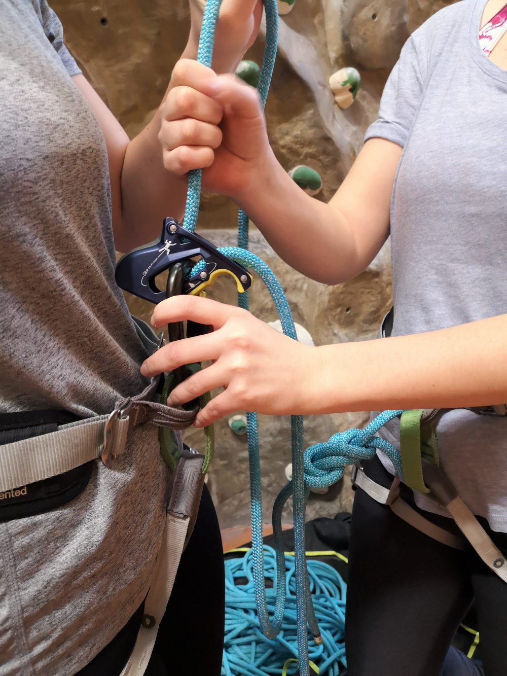 Kletterkurs Vorstieg Spotten