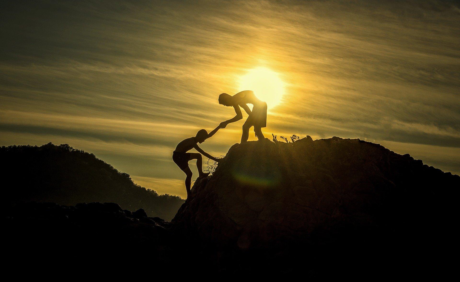 Firmenevent Klettern