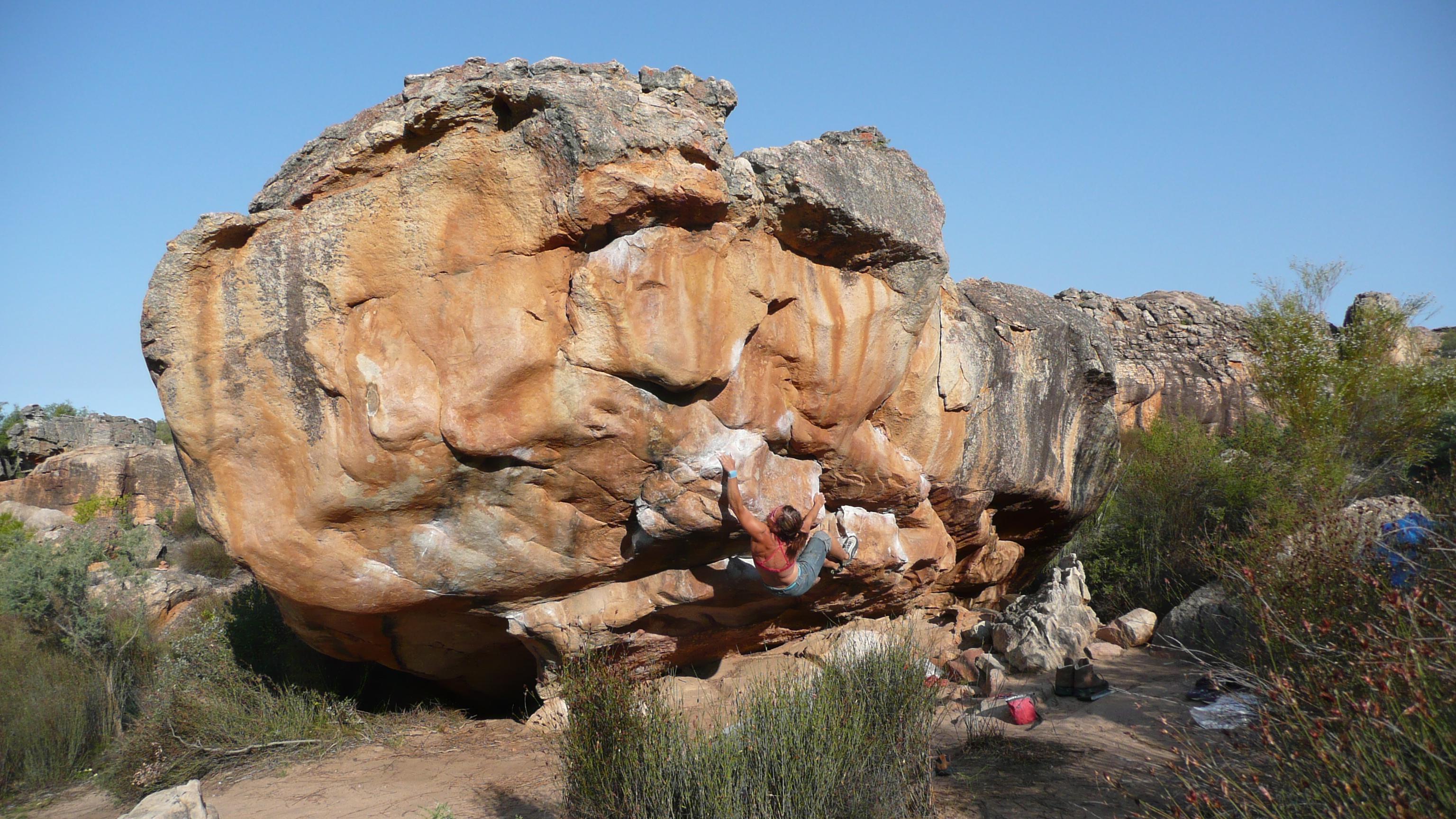 Bouldern mit Kletterherz