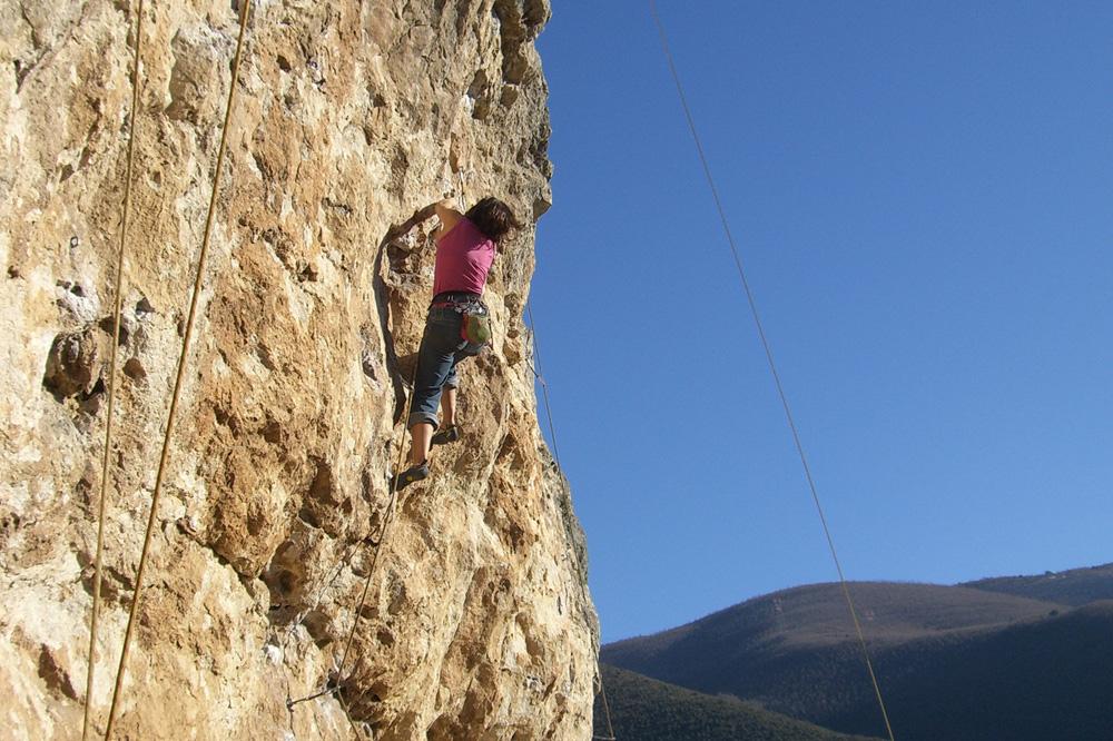 Kletterkurs am Fels für Fortgeschrittene